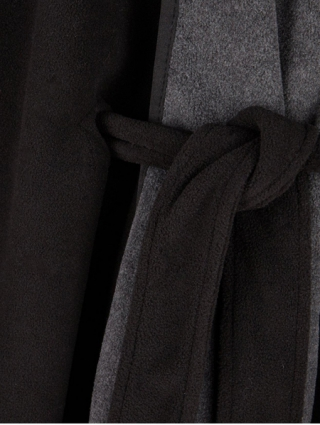 Faux Fur Fleece Cape