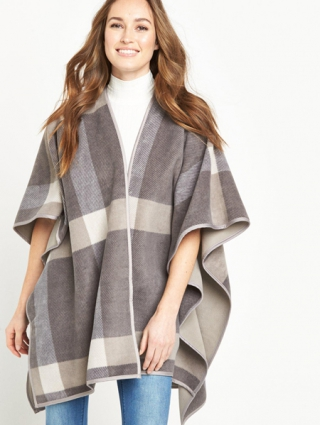 Trio Panel Belted Cape