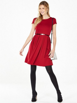 Fit And Flare Skater Dress
