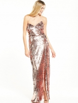 Kady Dress - Rose Gold