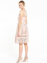 Lace Midi Prom Dress