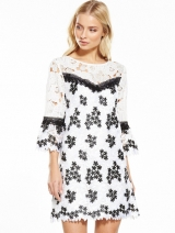 Selfridge Lace Organza Dress