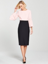Limila  Tulip Sleeve Dress