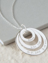 Eternity Trio Necklace