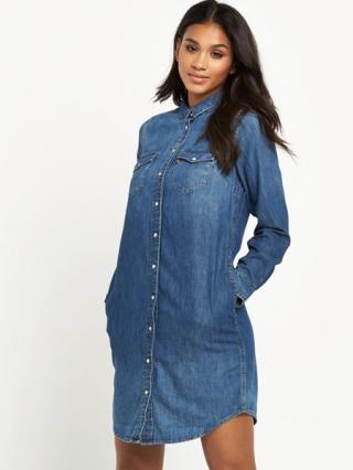 Long Sleeve Western Dress
