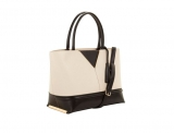 Colour Block Tote Bag