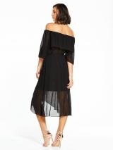 Frill Midi Dress