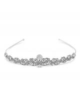 Silver Crystal Tiara