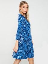Collar Frill Dress