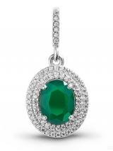 Siver pendant ornament